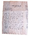 Ulysses S. Grants Letter To Robert E. Lee 1865